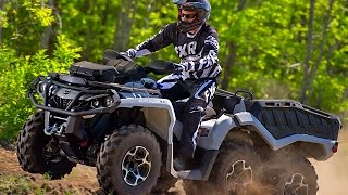 TEST RIDE 2015 Can Am Outlander 650 XT 6x6