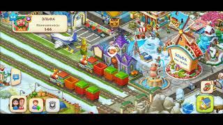 ТАУНШИП город и ферма #555  Знакомство с моим городом  Игровое видео