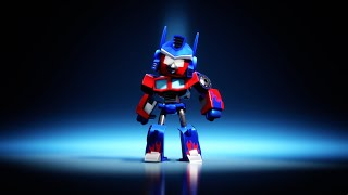 Angry Birds Transformers: Red as Optimus Prime!