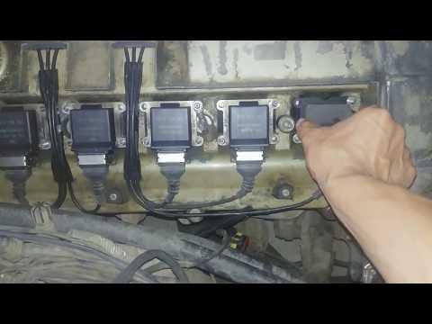 Троит двигатель. Диагностика и ремонт БМВ Е34 М50
