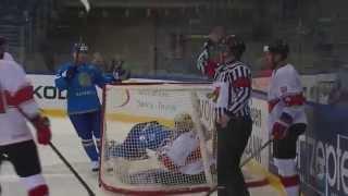 Kazakhstan vs. Hungary - 2015 IIHF Ice Hockey World Championship DIvision I Group A