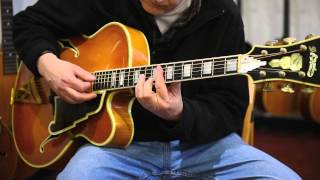 D'Angelico New Yorker Special Archtop Acoustic Guitar (1961) at Retrofret