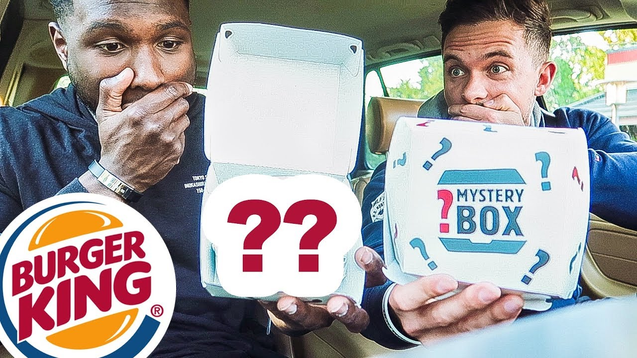 Mystery Box Burger King