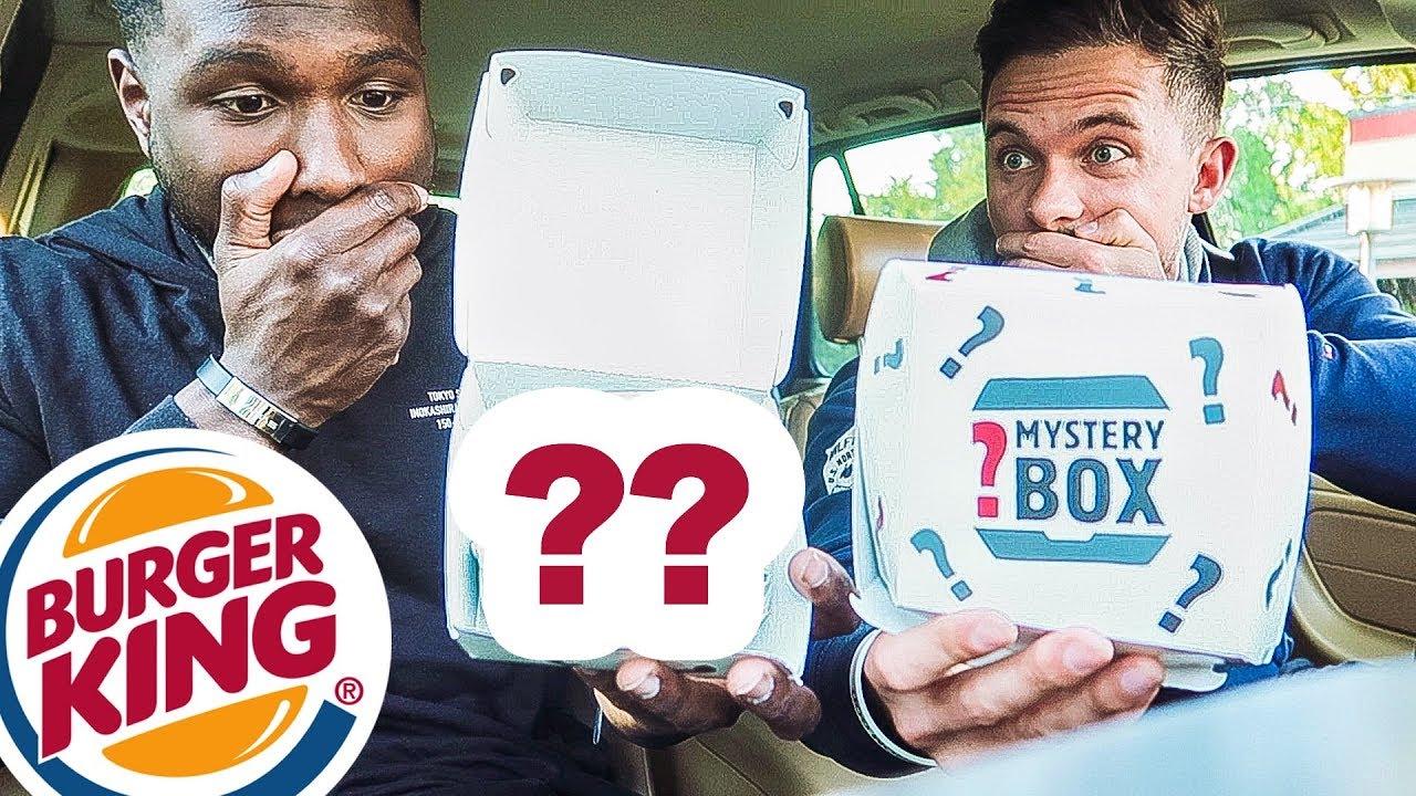 Burger King Mystery Box