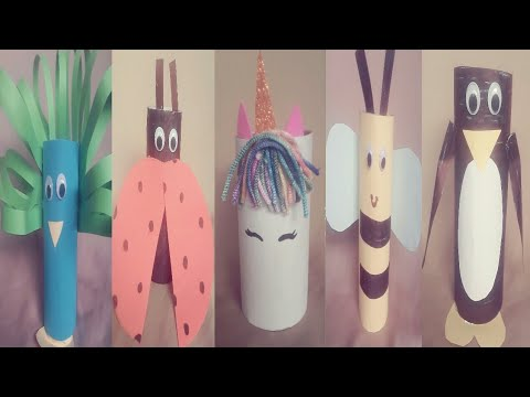 Best Room Decor Idea With Recycle Toilet Paper Roll