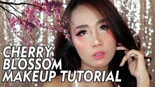 CHERRY BLOSSOM makeup (ENGLISH SUB)