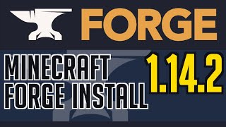FORGE 1.14.2 minecraft - how to download and install Forge 1.14.2 (on Windows)