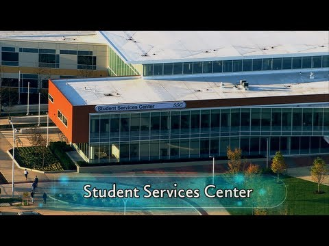 College of DuPage's Student Services Center