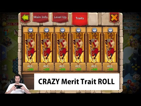 JT's Free 2 Play Evolving Michael Augmenting Rolling Traits Castle Clash