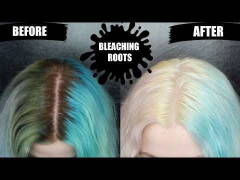 Bleach Bath To Remove Color & Bleaching Roots