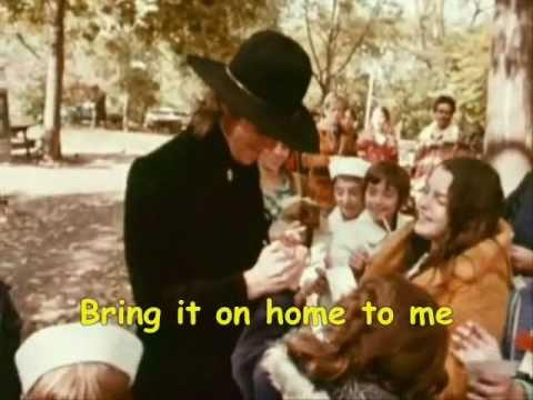 John Lennon Bring It On Home Send Me Some Loving - LYRICS