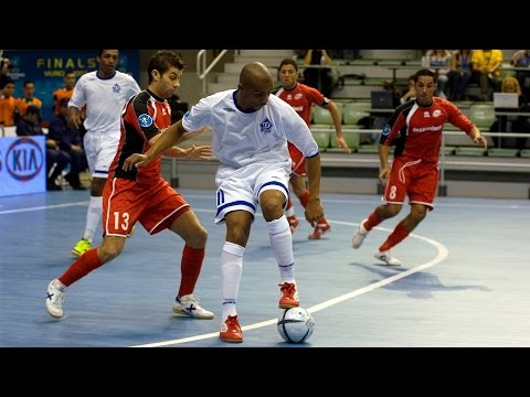 DYNAMO vs ACTION 21 CHARLEROI. UEFA Futsal Cup.Semifinal. 26/04/2007