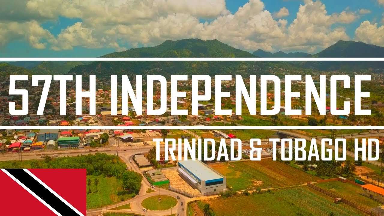 Trinidad and Tobago 55TH Independence day 2017 - YouTube