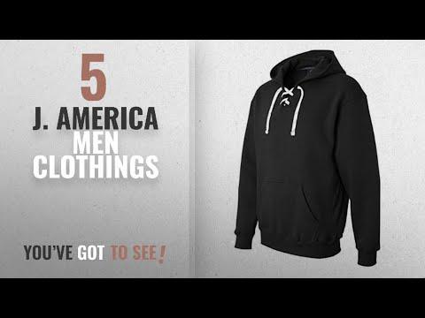 Top 10 J. America Men Clothings [ Winter 2018 ]: J. America Men's Sports Lace Up Hoodie Sweatshirt,