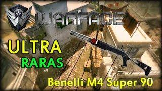 Warface Ultra Raras Benelli M4 Super 90