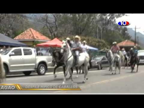 desfile hipico de caballos feria patronal ocotepeque 2014