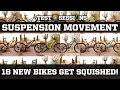 18 New Mountain Bikes Get Squished!