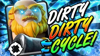 THE DIRTIEST CYCLE DECK I'VE EVER SHARED!! 2.9 ROYAL GIANT!! - Clash Royale