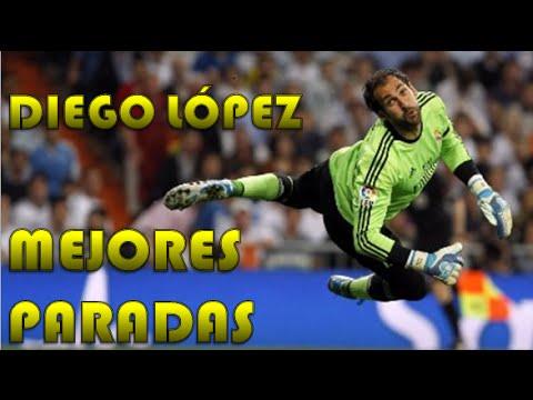 Diego Lopez mejores paradas [HD]