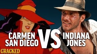 Why Carmen Sandiego Is Better Than Indiana Jones - Today's Topic
