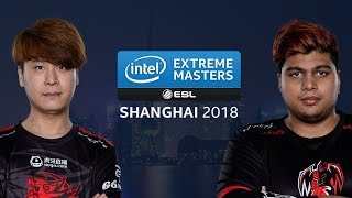 CS:GO - TyLoo vs. B.O.O.T-ds [dust2] Map 1 - Group B Winners' Match - IEM Shanghai 2018
