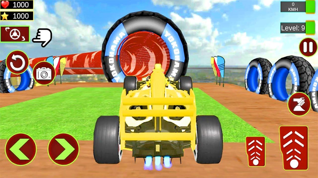 Juegos de Carros - Formula Car Stunts 3D - Videos Juegos de Carrera de Carros de Formula 1