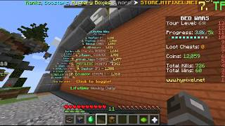 Technoblade is on the Hypixel Bedwars Leaderboard
