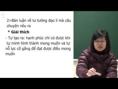 """Nghị luận xã hội: """"Thế nào là hạnh phúc?"""" - Cô Phạm Thị Thu Phương"""