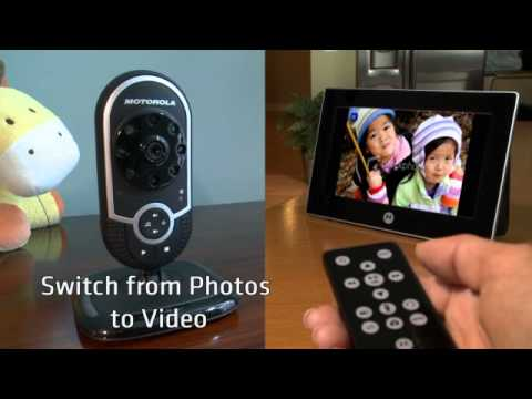 motorola vip baby monitor demonstration video babysecurity youtube. Black Bedroom Furniture Sets. Home Design Ideas
