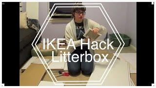 Litter Box Hideaway Ikea Hack