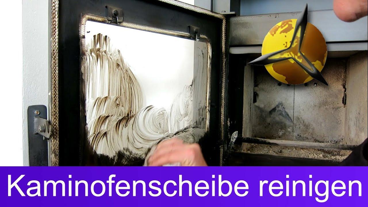 Top Kaminofen Scheibe: Glas einfach reinigen / putzen - YouTube WG01