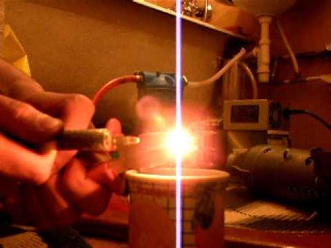 Водородно кислородная горелка своими руками
