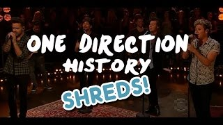 One Direction - SHREDS - History