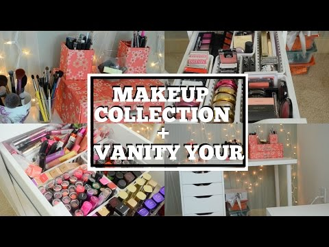 Makeup Collection + Makeup Organization/Storage + Vanity Tour