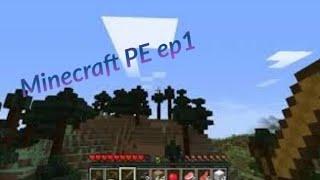 Minecraft PE ep1