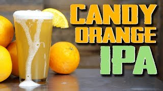 Candy Orange IPA Homebrew Recipe (Hazy, Juicy, Awesome)