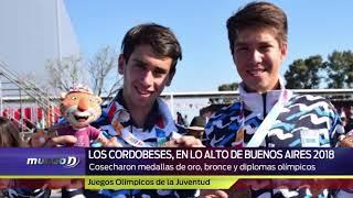 Repasá el informe especial de la actuación de los cordobeses en los Juegos Olímpicos de la Juventud