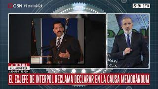 Causa Memorándum con Irán: Ronald Noble (ex INTERPOL) reclama declarar. Habla Alejandro Rúa