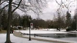 Sunday in the Park - Winter 2011 Ohio State University - Mirror Lake