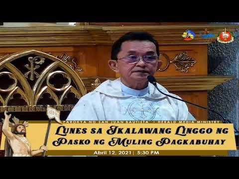 Lunes sa Ikalawang Linggo ng Pasko ng Muling Pagkabuhay | SJBP - Calamba City