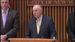 NYPD Commissioner Bratton and Executive Staff Hold Briefing