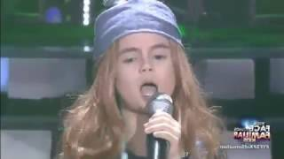 your face sounds familiar kids xia vigor as axl rose    sweet child o mine