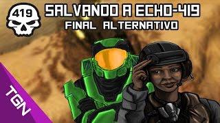 Salvando a Echo-419 Foehammer l Halo CE Final Alternativo l Halo CE Misión Secreta