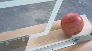 First Team FT236 Competition Glass Basketball Backboard