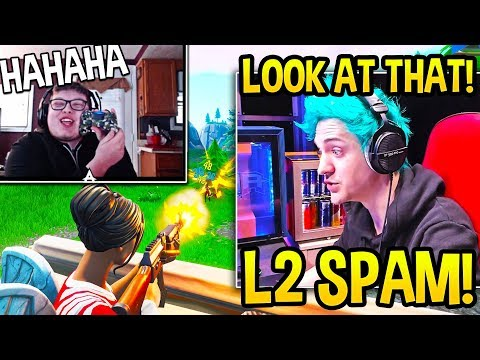 Ninja SPECTATES Ghost Aydan & Explains Why CONTROLLER On PC Is EXTREMELY UNFAIR! - Fortnite Moments