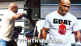 "MIKE TYSON LEAKS NEW ""GOAT"" TRAINING FOR ROY JONES JR. CLASH - ALL THE BEST CLIPS"