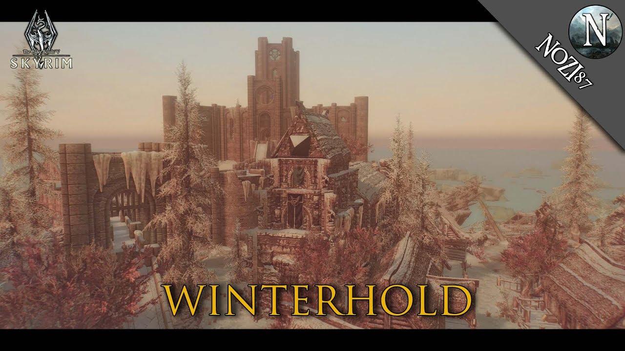 TESV - Skyrim Mod Showcase SSE: Winterhold by dwemer156