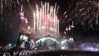 Dimitri Vegas & Like Mike @ Tomorrowland 2014 WE2 (last~12min) Fireworks