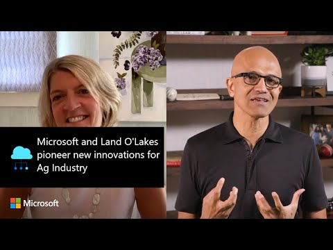 Microsoft and Land O'Lakes pioneer new innovations for Ag Industry