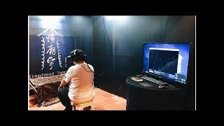 挑戰恐怖VR短片 紅衣導演程偉豪:拍完有點怕